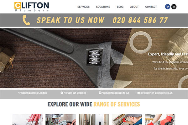 clifton plumbers